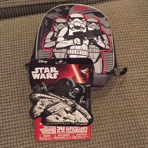 Star Wars lunch bag and ratio and stickers set